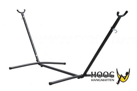 Hangmat Met Stevig Frame.Stalen Hangmat Standaard 280 Cm Houtskool