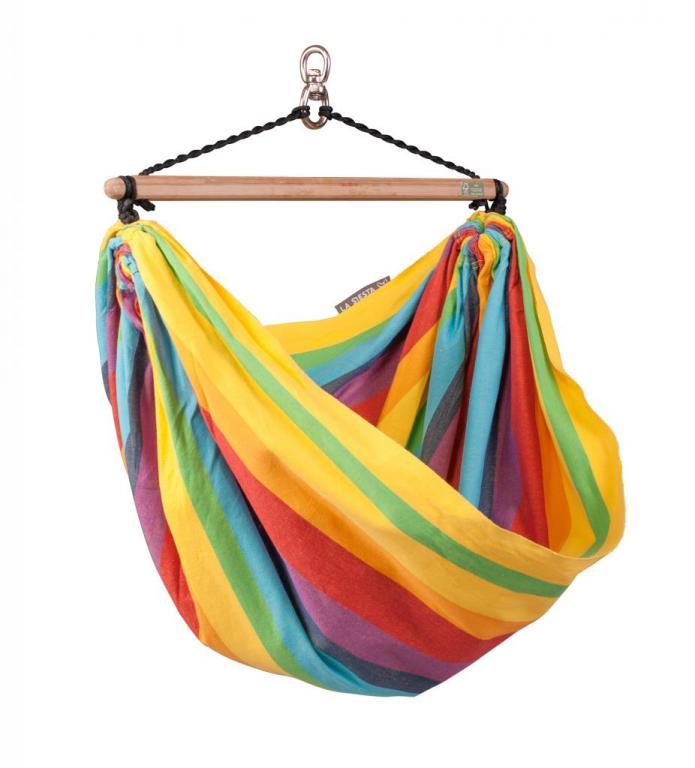 Bevestigingsset Hangstoel Seguro.Iri Rainbow Regenboog Hangstoel Voor Kinderen Hoog Hangmatten