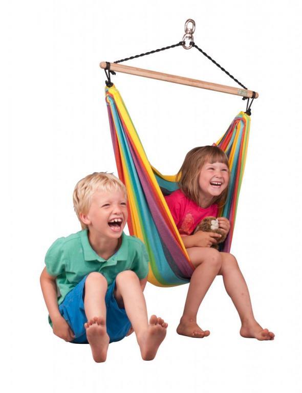Hangstoel Voor Kinderen.Iri Rainbow Regenboog Hangstoel Voor Kinderen Hoog Hangmatten